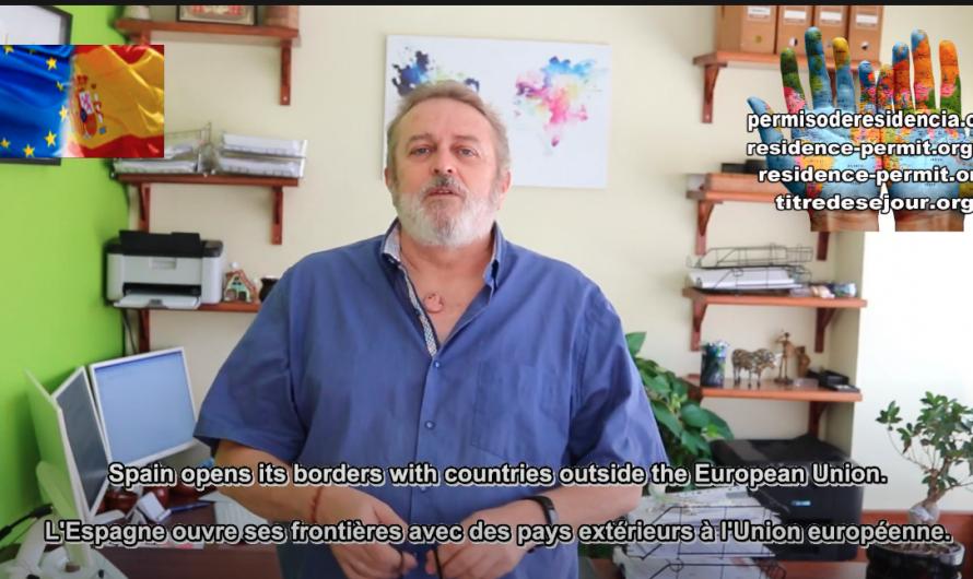 إسبانيا تفتح حدودها مع دول خارج الاتحاد الأوروبي.